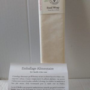 Emballage alimentaire cire d'abeille